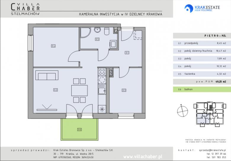 Mieszkanie nr M.05.